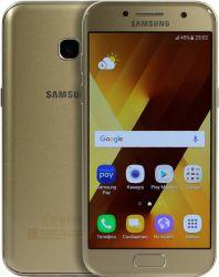 smartphone samsung galaxy a3 2017 gold sm-a320fzddser