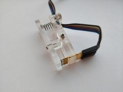 arduino tools probe pcb clip single-row 2-54mm 5p