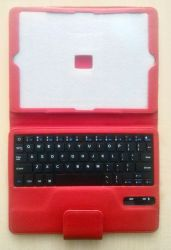 smartaccs cover 9-10-inch red+kbd bluetooth