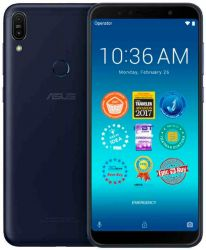 smartphone asus zenfone max pro m1 zb602kl-4a083eu dark-blue